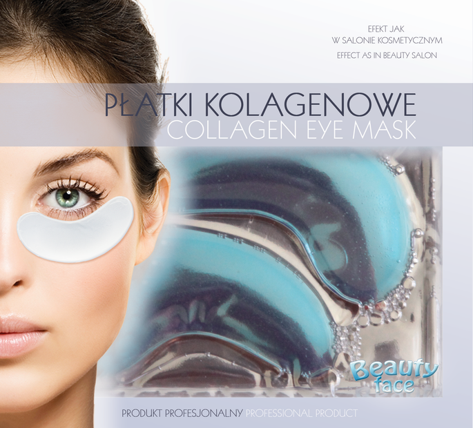 BEAUTYFACE DEEP SEA ALGAE HYDRATING & FIRMING COLLAGEN EYE MASK