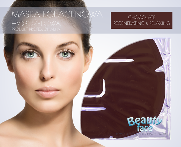 BEAUTYFACE DARK CHOCOLATE DEEP REGENERATING & RELAXING COLLAGEN